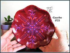 Exotic design. #Mandala trinket tray by #EclecticDawnArts http://etsy.me/2l6yC6L via @Etsy #henna #meditation #trinkettray #handpainted