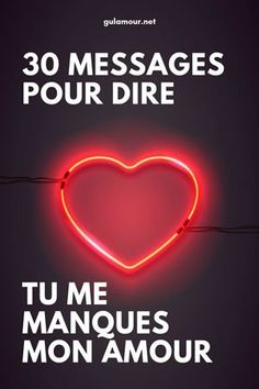 """30 messages """"Tu me manques"""" - Love Message For Girlfriend, Love Messages For Husband, Messages For Him, Cute Text Messages, Romantic Love Messages, Romantic Quotes, Happy Father Day Quotes, Motivational Quotes, Inspirational Quotes"""