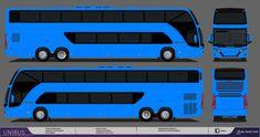 Onibus Marcopolo, Buses, Paper, Design, Activity Toys, Blue Prints, Busses