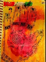 journaled hands - Google Search