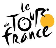 le #logo du #Tour de #France #cycliste l'événement sportif du mois de juillet !