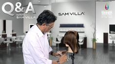.. ..THIS MAN is BRILLIANT.. ..  How to Shape Hair 'around' the Face | Sam VIlla: FULL + Playlist