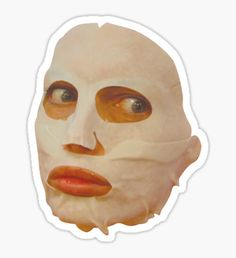 'Alyssa Edwards Beauty Mask - Rupaul's Drag Race All Stars Sticker by covergirl Alyssa Edwards, Rupaul, All Stars 2, Preppy Stickers, Tumblr Stickers, Mood Wallpaper, Face Stickers, Meme Pictures, Aesthetic Stickers