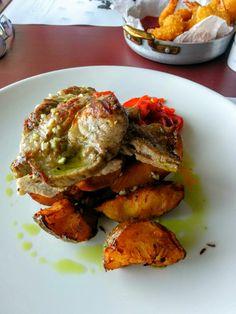 Ceafa de porc GRizzly Ratatouille, Ethnic Recipes, Pork