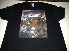 Sono felice di condividere l'ultimo arrivato nel mio negozio #etsy: T-shirt opera d'arte https://etsy.me/2k2POYd #abbigliamento #camicie #tshirtunica #arte #colore #liberta #unico #ritratto #serigrafia