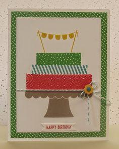 stamping sanity: Build a Birthday,Sneak Peek,Stampin' Up!