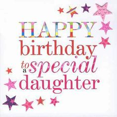 Happy birthday daughter DlY quote                                                                                                                                                     More