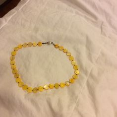Necklace Yellow necklace Jewelry Necklaces