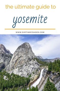 The Ultimate Yosemite Trip Planning Guide is the best way to ensure you have a smooth and successful trip to Yosemite. Make sure your road trip or vacation is a fun adventure with information on things to do in the park, weather and closures, directions, and more! Happy trails! Fun Adventure, Greatest Adventure, Yosemite National Park, National Parks, Places In California, Happy Trails, Best Hikes, Amazing Adventures, Trip Planning