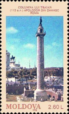 Trajan's Column (113 AD). Sculptor - Apollodorus of Damascus. Rome