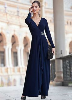 Together Long Jersey Dress