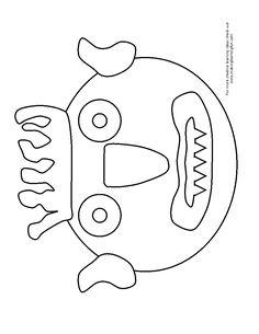 Go away worksheet make a mask the super simple for Fuera de aqui horrible estacion