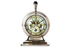 #onekingslane #designisneverdone  See Through Clock on OneKingsLane.com
