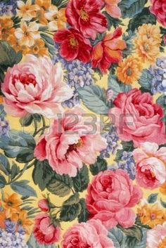 flower pattern, big roses