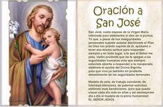 Santa María, Madre de Dios y Madre nuestra: Oración a San José