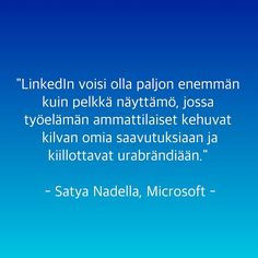 Hyvin luonnehdittu!#linkedin #microsoft #t #potkukelkkacom #digityday
