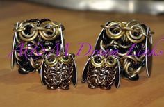 Chain maille Owls - A & M Dream Links