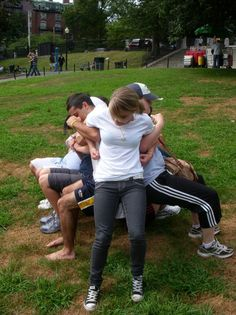 We do teambuilding exercises