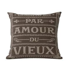 Amour French Decorative Pilllow