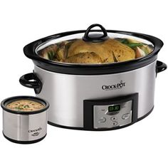 Crock-Pot® 6-Qt. Slow Cooker & Little Dipper™ + $5 Printable Rebate - jcpenney