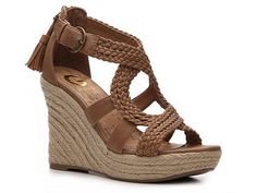 Just bought these - perfect neutral to dress up or down and LOVE the back zipper and tassle action.