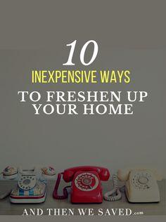 10 Inexpensive Ways