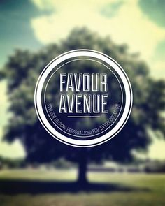 Cool Graphic Design on the Internet, FAVOUR AVENUE. #graphicdesign #poster @ http://www.pinterest.com/alfredchong/graphic-design/
