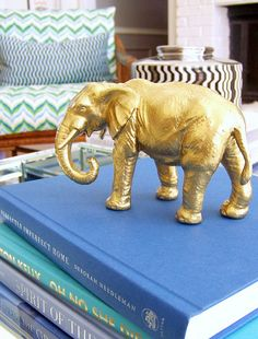 diy gold animals