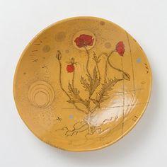Golden Poppy Platter