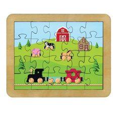 Endeavour Toys - Maple Landmark Countryside Railroad Jigsaw Puzzle