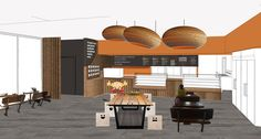 Concept Render by Renew Design for Beefy's Pies Mango Hill, Brisbane