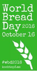 eu e os tachos: Pão rápido para World bread day 2016
