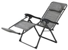 For Living Zero Gravity Chair With Footrest Canadian Tire Zero Gravity Chair Chair Folding Camping Chairs
