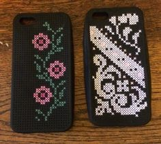 iPhone 5 Cross Stitch Cases from Coats and Clark