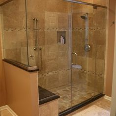 master bath shower tile ideas on pinterest shower tiles tile ideas - Bathrooms Showers Designs
