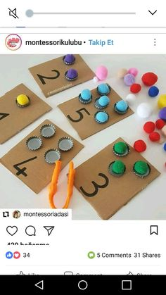 - # maths Best Picture For Montessori Activities For Your Taste You are looking for something, and it is going to tell you ex Preschool Learning Activities, Infant Activities, Teaching Kids, Kids Learning, Preschool Centers, Montessori Preschool, Preschool Curriculum, Kindergarten Shapes, Numeracy Activities