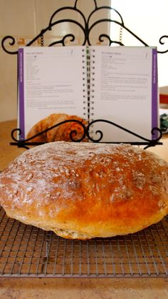 This recipe is in the Thermomix Everyday Cooking book and I added some pepitas, pumpkin and linseeds. I've heard that it's a little diffi. New Recipes, Bread Recipes, Cooking Recipes, Favorite Recipes, Recipies, Thermomix Bread, Buttermilk Cornbread, Savory Muffins, Bread Rolls