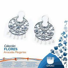¡A nosotros también nos gustan las flores!   www.joyascitlali.com