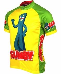 Gumby Cycling Jersey by Retro