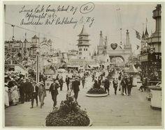 Luna Park, Coney Island, in 1907