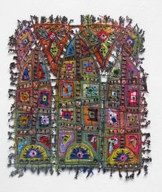 Art In Stitches: New Work for Grovewood Gallery....WINDOWS