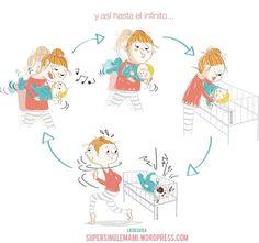 14 ilustraciones sobre ser mamá ¡que te harán reír!   Blog de BabyCenter