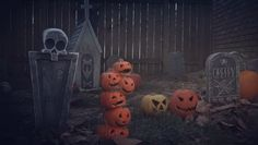 Make the spookiest Halloween graveyard with these DIY animated tombstones!