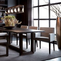 Stunning 60 Amazing Small Dining Room Table Furniture Ideas https     Similar Ideas  Beautiful interiorsDark interiorsDining TablesDining