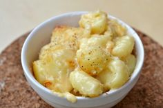Baked Gnocchi Mac n' Cheese: I used Monterrey Jack instead of Cheddar, and this was excellent. A very stick-to-your-ribs sort of meal. Rich and creamy, and very tasty.