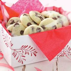 Pistachio Chip Cookies Recipe from Taste of Home -- shared by Lynne Ogg of Cedar, Minnesota