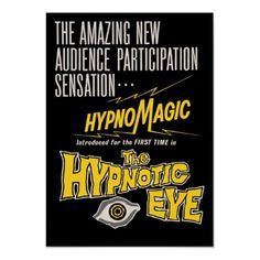 The Hypnotic Eye Movie Poster from Zazzle.com