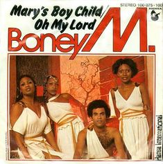 """""""Mary's Boy Child Oh My Lord"""" was sang by Boney M Christmas Number 1, Christmas Tunes, Xmas, Merry Christmas, Advent Scripture, Boney M, Number One Song, Festivals, Tv Shows"""
