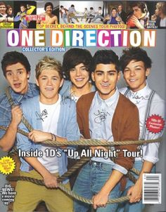 ATTENTION DIRECTIONERS!!! WE ARE HAVING A CONTEST FOR THIS MAGAZINE FILLED WITH THINGS ONE DIRECTION ARE UP TO, CUTE PICTURES, AND A MEGA POSTER! SO HURRY TO OUR WEBSITE TO GET YOUR VERY ONE DIRECTION EXCLUSIVE MAGAZINE! AND HURRY WHILE IT LASTS!!!! ALL YOUR FRIENDS WILL BE JEALOUS WHEN YOU PICK UP YOUR ONE DIRECTION MAGAZINE!!!!