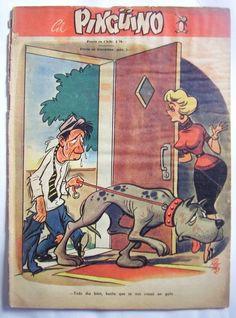 Pinguino Comic Numero 4 Humor coleccion vintage Revista Issue Spanish 1956